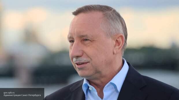 Беглов заявил об интенсивном жилищном строительстве в Приморском районе Петербурга