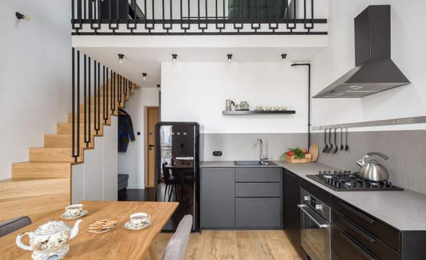 Прекрасный пример: небольшая квартира для молодой пары