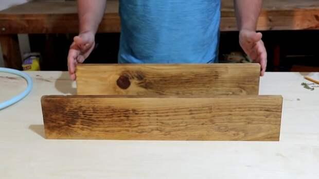 Крутая идея с обычным обручем. Стильное и полезное изделие для дома