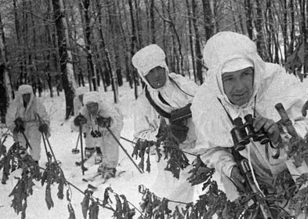 Бой у деревни Хлуднево: как 27 лыжников уничтожили 100 немцев