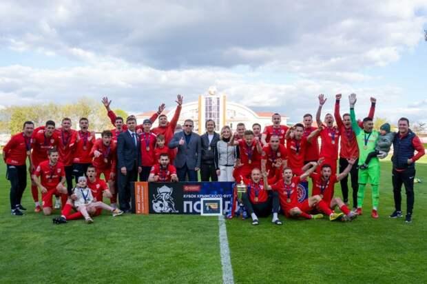 Гвардеец» из Скворцово стал обладателем Кубка Крымского футбольного союза