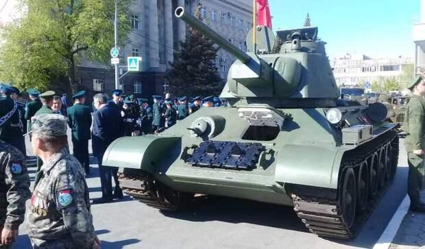 В Оренбурге начался Парад Победы