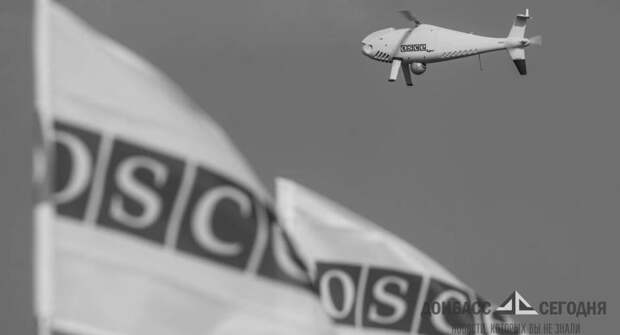 Беспилотник ОБСЕ совершил аварийную посадку на северо-западе ДНР