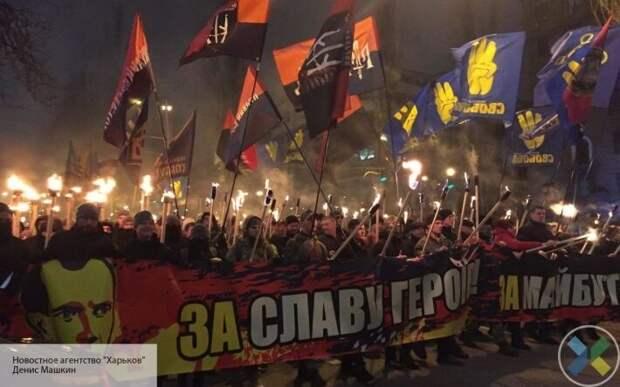 L'Antidiplomatico:  Евросоюз закрывает глаза на нацистские шествия на Украине