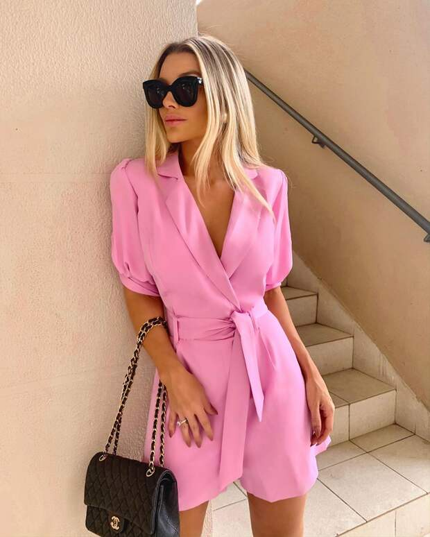Модные образы в розовом цвете лето: 20 невероятно женственных и привлекательных идей