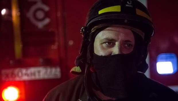 Пожарные Подольска ликвидировали возгорание в автомобиле ВАЗ