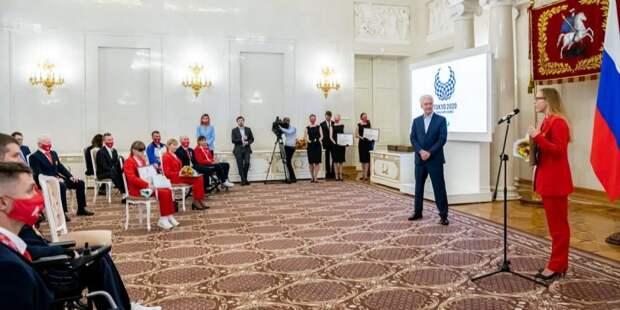 Собянин: Москвичи принесли сборной России 23 медали Паралимпиады в Токио
