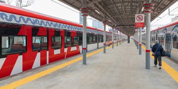 Поезда МЦД 4 проследуют через станцию «Беговая»