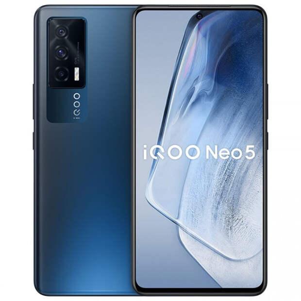 Анонсирован игровой смартфон iQOO Neo 5 5G