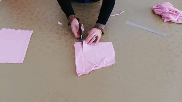 Неожиданно интересная переделка трикотажного свитера
