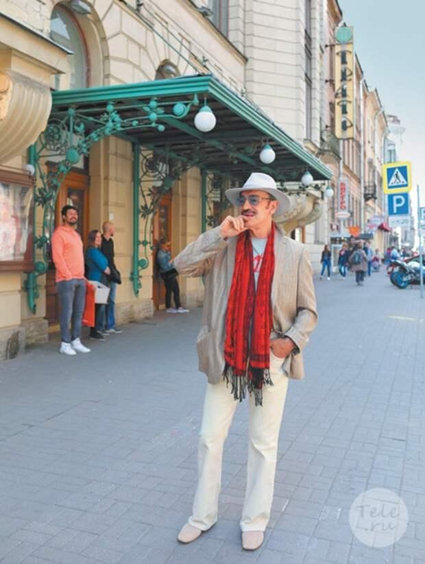Михаил Боярский: «Печалит одно — когда-нибудь придется расстаться с любимым городом»