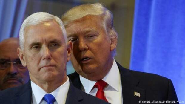 СМИ: Вице-президент США Пенс отказался помочь президенту Трампу