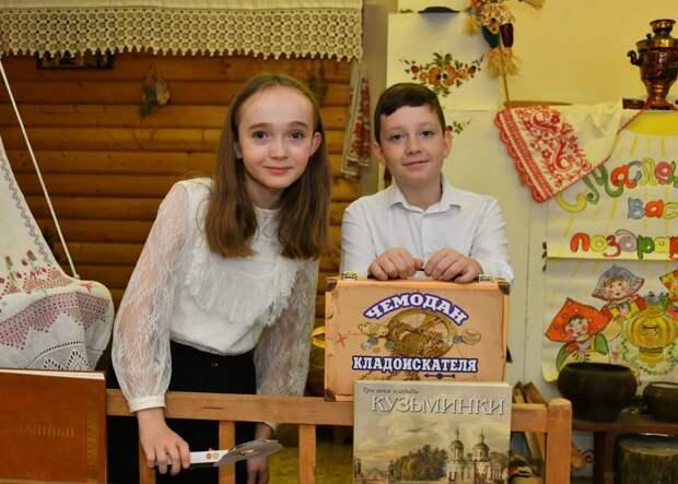 Школьники заинтересовались археологией / Фото: Денис Афанасьев