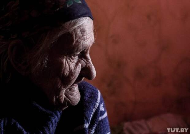 Бабуля за 80