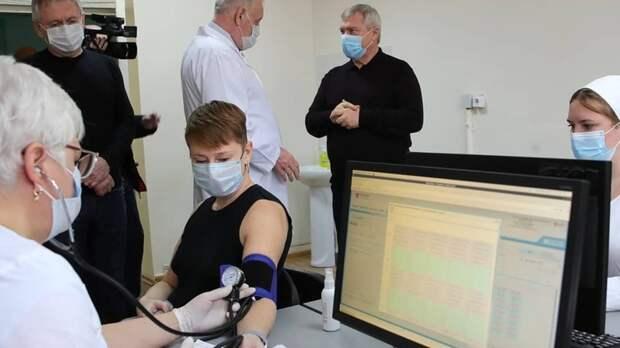 Голубев запутался врайонных пунктах вакцинации вРостовской области