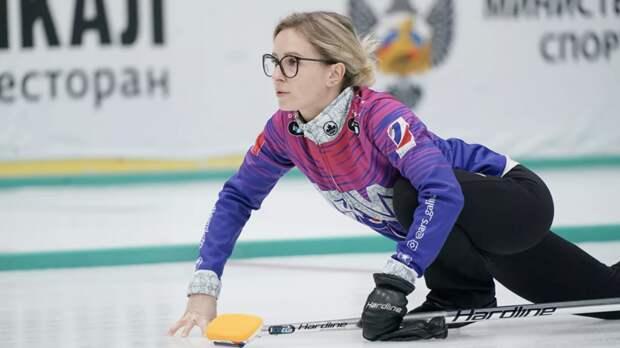 Российские кёрлингистки вышли в полуфинал ЧМ, обыграв команду США