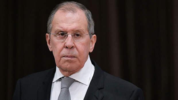 Лавров: ситуацию в Белоруссии дестабилизируют с территории Украины