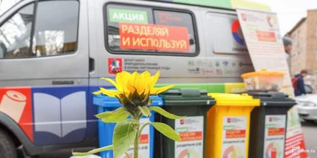 На 800-летия Москвы пройдет экологическая акция по сбору «полезных» отходов