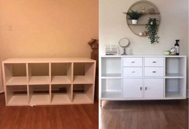 22 переделки безликой мебели IKEA вуникальную изюминку интерьера