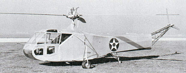 Sikorsky R-4 helicopter - development history, photos, technical data