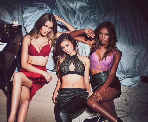 "Ангелы Victoria Secret для рекламной кампании ""Sexy Little Things"""