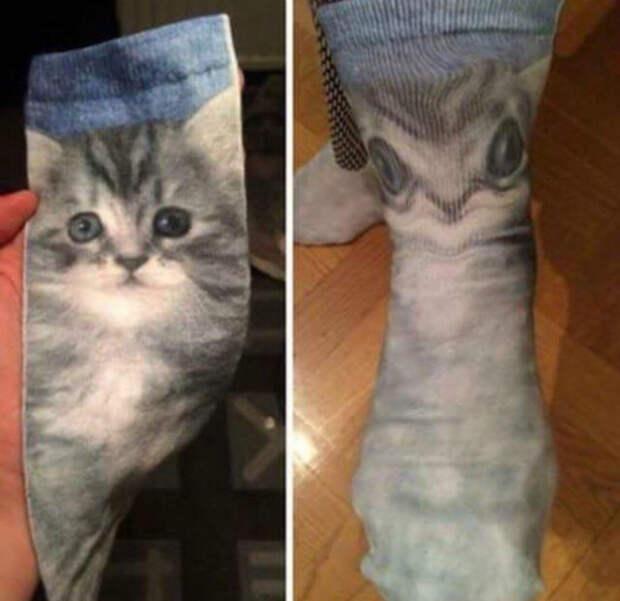 Согласитесь, носки просто очаровательные! | Фото: Tumblr.