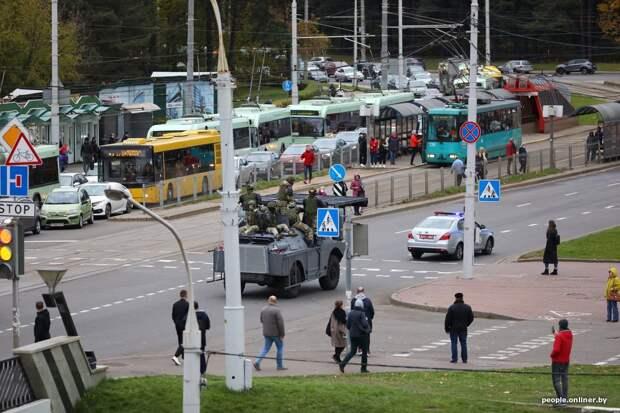 Протесты в Беларуси: на улицы снова никто не вышел