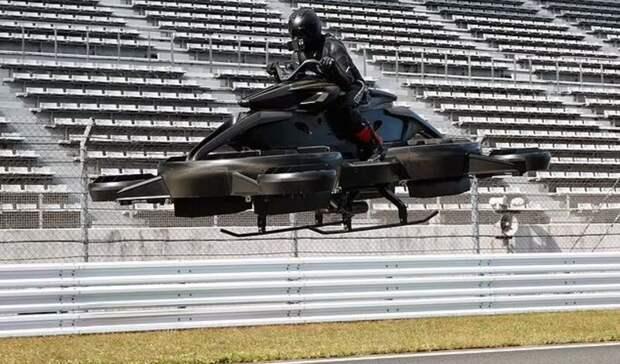 Летающий мотоцикл Xtismo появится в продаже в 2022 году