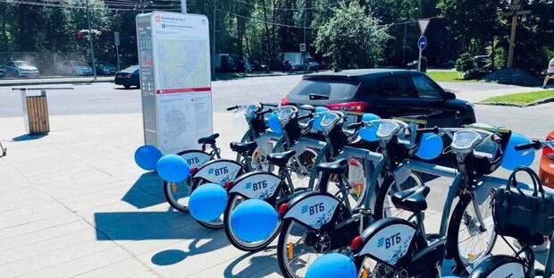 Велопрокат в Щукине 10 июля подешевеет до пяти рублей