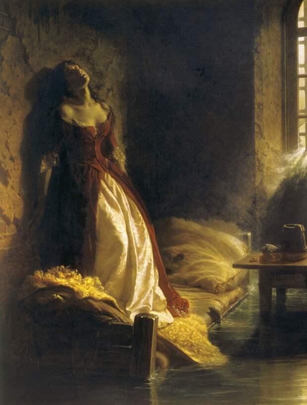 Княжна Тараканова - картина Константина Флавицкого.jpg