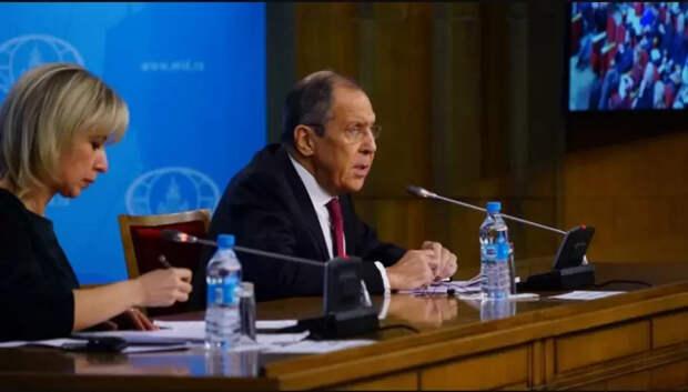 Ответ России на протест НАТО по поводу военных баз на Кубе...