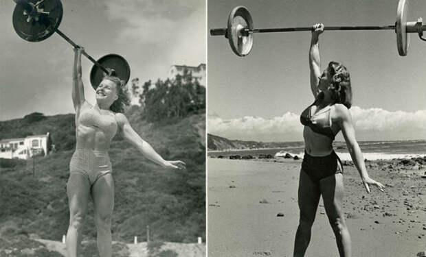 Самые сильные женщины в истории: поднимали штангу одной рукой