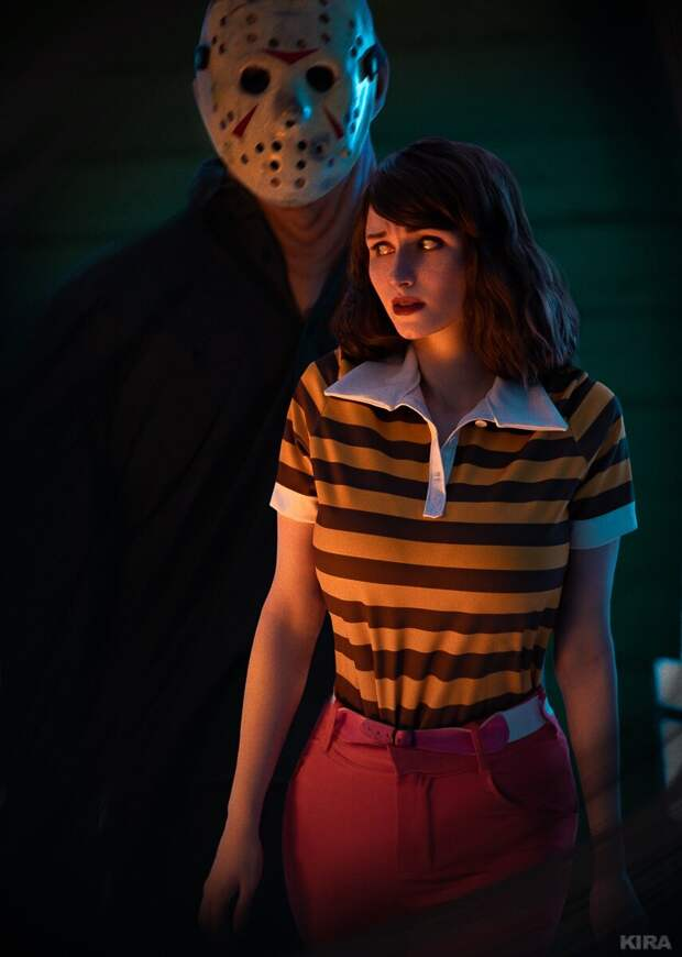 Фэндом: Friday the 13th: the Game, косплееры: ClaireSea и James, фото: KIRA