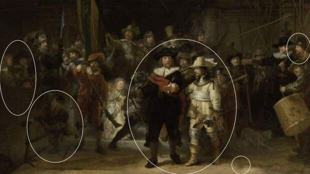"""Обрезанную для """"удобства"""" картину Рембрандта восстановили с помощью ИИ"""