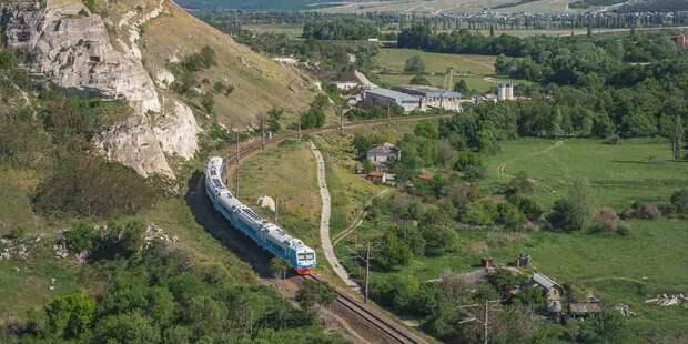 В Крыму запустят новые маршруты электричек и рельсовых автобусов