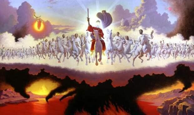 Картинки по запросу конец мира и второе пришествие