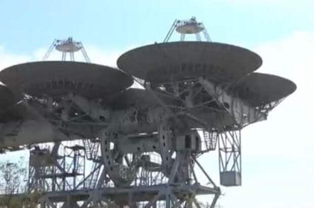 В Гагаринском парке установят бывшие космические антенны «Дельта» и «Кедр»