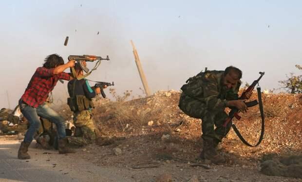 Бойцы Свободной армии Сирии