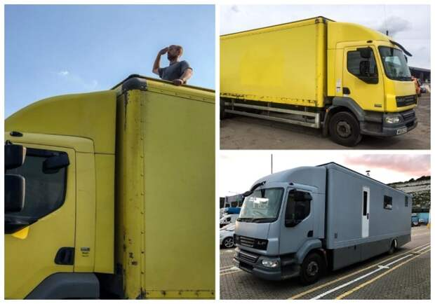 Британцы на eBay купили старый грузовик и превратили его в дом на колесах. | Фото: tips-and-tricks.co.