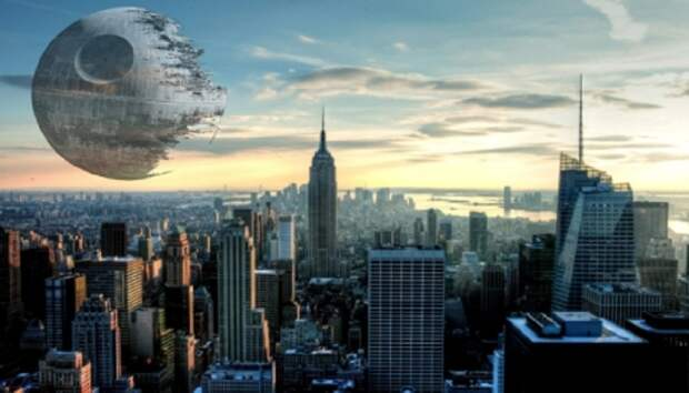 «Звезду смерти» можно наблюдать над Нью-Йорком. Возможно, что и не только над Нью-Йорком