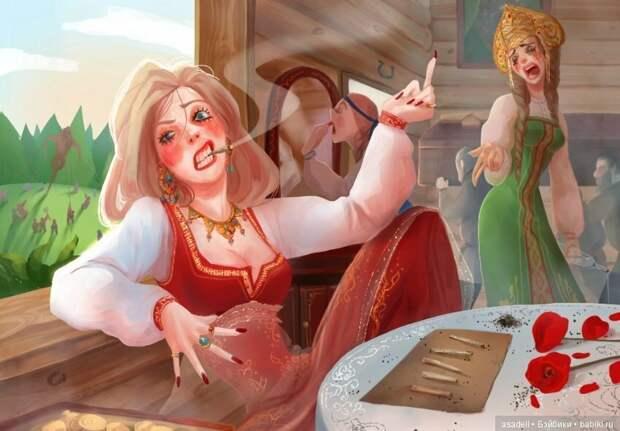 """А по-моему Шахерезада — это переодетый мужик! Столько """"сказок"""" могут только мужики рассказывать!"""