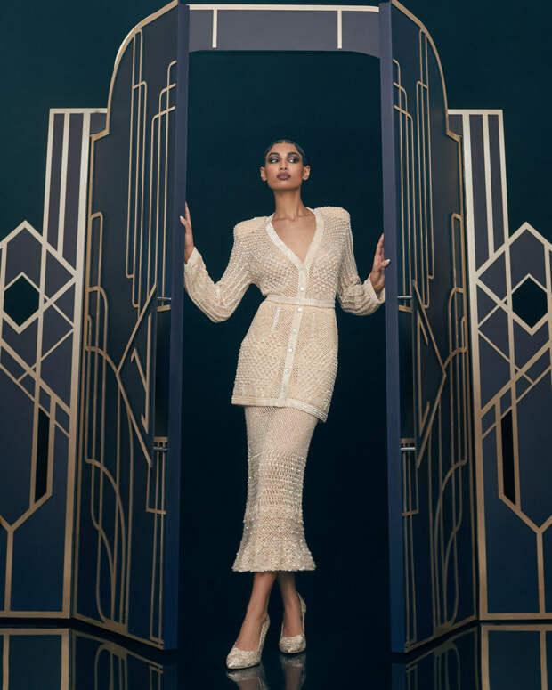 Платья, как произведения искусства. Или что интересного было на неделе моды от кутюр 2021