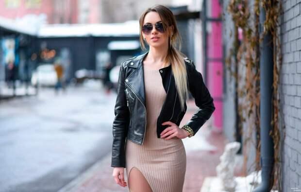 Почему 80% женщин неправильно носят кожаные куртки? Узнай их ошибки!
