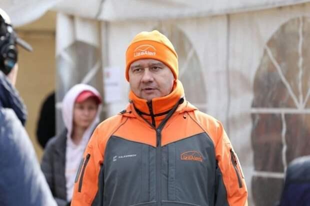 Координатор «ЛизаАлерт» Леонов провел учения для новых добровольцев отряда