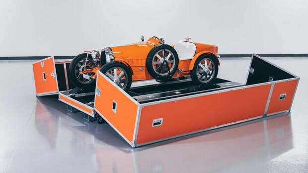 Bugatti Baby II стал официальным трансфером аэропорта Дубая