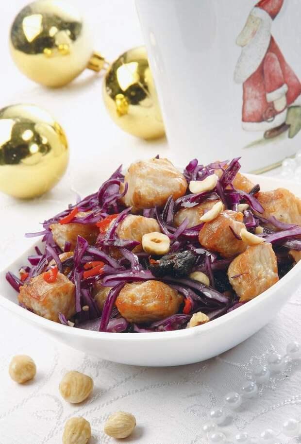 Салат закусочный для праздничного застолья