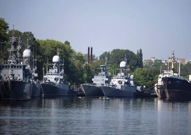 На Балтийском флоте прошли учебные сборы с командирами кораблей