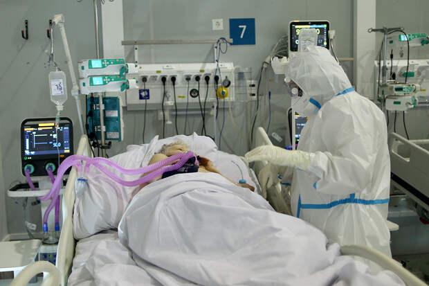 Число тяжёлых пациентов с COVID-19 в Москве выросло на 70%