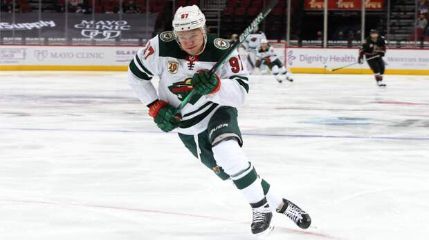 Капризов признан 2-й звездой дня в НХЛ