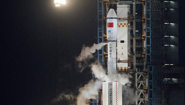 Китайская ракета-носитель Великий поход 7. Архивное фото